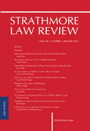 View Vol. 1 No. 1 (2016): Strathmore Law Review